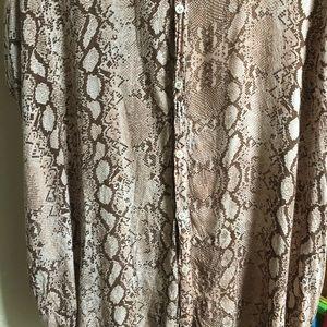 acacia swimwear Dresses - Acacia Mombasa Python sz P